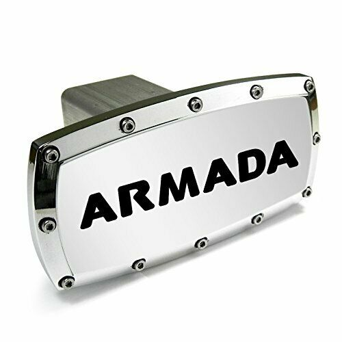 Nissan Armada Engraved Billet Aluminum Tow Hitch Cover
