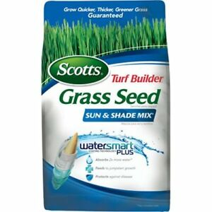 scotts turf builder grass seed sun and shade mix, 7 pound