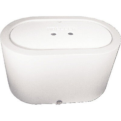 White 26 Gallon Oval Livewell or Bait Tank for Boats
