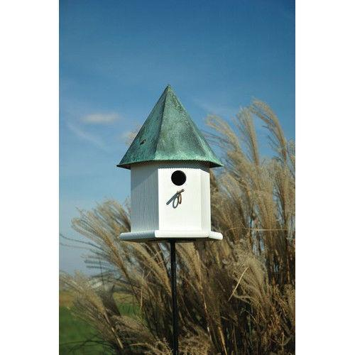 Bird Houses Copper Roof Ebay