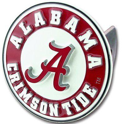 Siskiyou Alabama Crimson Tide College Trailer Logo Hitch Cover - Frees Shipping