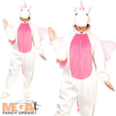 Deluxe Unicorn Adults Fancy Dress Animal Fairy Tale Book Day Mens Ladies - Unicorn Man Costume