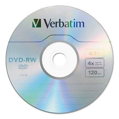 Verbatim DVD-RW Discs - 95179