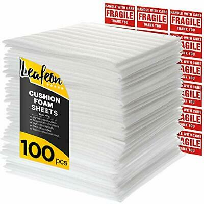 12 X 12 Foam Wrap Sheets For Packing Shipping Moving Supplies Dishes - Cush...