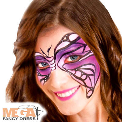 Purple Cream Make Up Fancy Dress Halloween Fairy Tale Costume Party Face - Halloween Face Paint Fairy