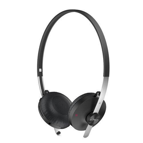 NEW SONY SBH60 STEREO BLUETOOTH WIRELESS OVER-EAR HEADPHONES HEADSET BLACK