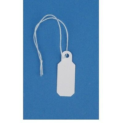 1000 Jewelry Price Tags - String Pricing Tags - 1 X 410 Or 25mm X 10mm