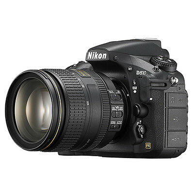 Nikon D810 FX-format 36.3MP Digital SLR Camera with 24-120mm f/4G ED VR Lens NEW