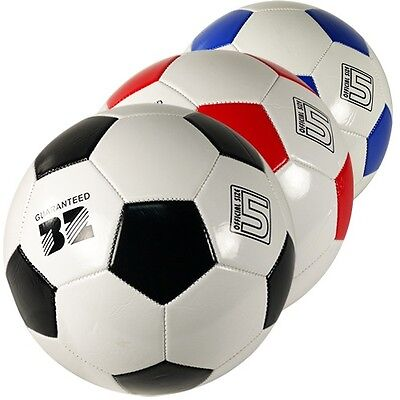Soccer Balls Size 5 Bulk Assorted Colors Wholesale (PACK OF 48X)