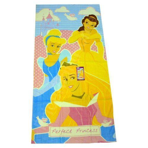 Monogrammed Princess Beach Towel: Princess Beach Towel