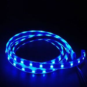 60 LED Submersible Aquarium Night Light Strip Fish Blue