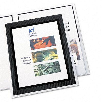 Flexi View 2 Pocket Folders - New Avery Flexi-View Two-Pocket Folder Black (2pk) - 47847 - Free Shipping