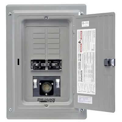 Indoor Transfer Panel - Reliance Controls 100-Amp Indoor Transfer Panel w/ 30-Amp Power Inlet