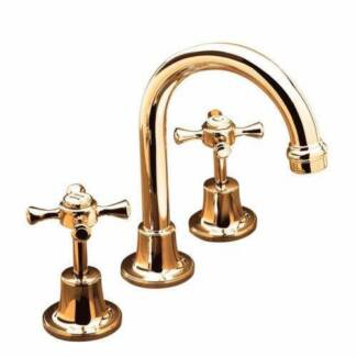 Bastow-York-Basin-Sink-Set-Tapware-Brass-Gold-5-Star-120MM-Outle