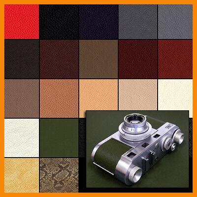 Kamera Belederung Kameraleder CLASSIC Muster, 16 Farben große Blätter 270x200 mm
