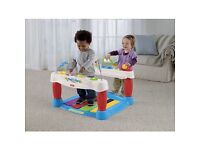 Kids step and play piano walker