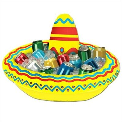 Inflatable Sombrero Cooler Cinco De Mayo Fiesta Mexican Decorations (Sombrero Cooler)