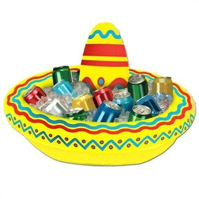 Inflatable Sombrero Cooler Cinco De Mayo Fiesta Mexican Decorations
