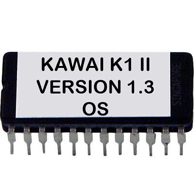 Usado, Kawai K1 II - Version 1.3 Firmware Update Actualización OS Eprom para K-1 MK2 segunda mano  Embacar hacia Spain