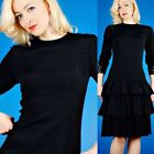 Party Regular Size Tiered XS/S Vintage Dresses for Women