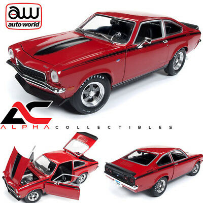 AUTOWORLD AMM1156 1:18 1972 CHEVROLET VEGA YENKO STINGER MAN-O-WAR RED, used for sale  Graham