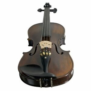 Ebony Fitted Flamed One-Piece Solid Wood Violin  (Brand new) Kitchener / Waterloo Kitchener Area image 2