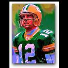 Aaron Rodgers Autographed Football Cards
