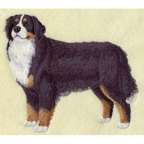 Embroidered Ladies Fleece Jacket - Bernese Mountain Dog C9616 Sizes S - XXL
