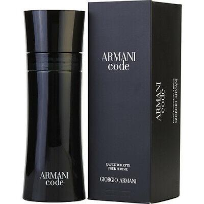 ARMANI CODE FOR MEN 200ML EAU DE TOILETTE SPRAY BRAND NEW & SEALED