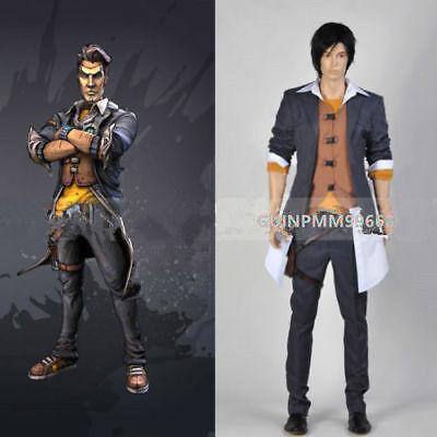 Borderlands 2 Adult Men's Outfit Custom Made Halloween Costume Cos