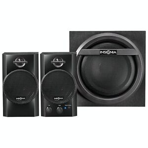 Insignia 2.1 Bluetooth Computer Speaker System - NEW IN BOX