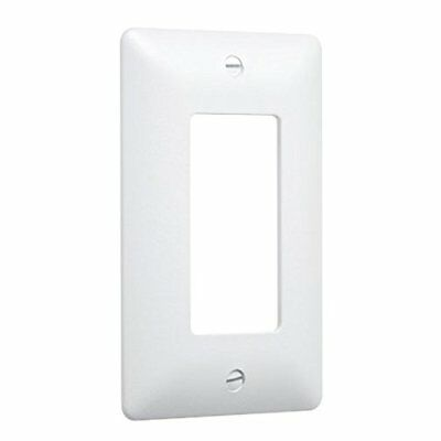 Hubbell Taymac - (10 Pack) 5000W 1 Gang Paintable Masque Wall Plate Cover, White