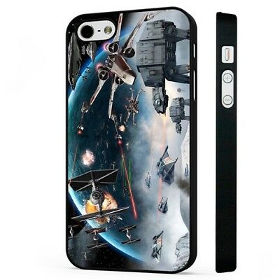 star wars battle BLACK PHONE CASE COVER fits iPHONE