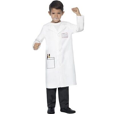 Childrens Dentist Fancy Dress Costume Kit with Teeth Childs Outfit by Smiffys