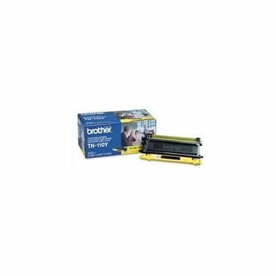 Brother Tn110y Yellow Toner Cartridge - Yellow - Laser - 1500 Page - 1 Each 110 Laser Toner Cartridge
