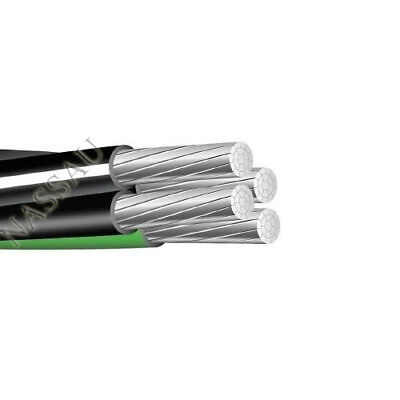 Per Foot 2-2-4-6 Aluminum Mhf Mobile Home Feeder Cable Direct Burial Wire 600v