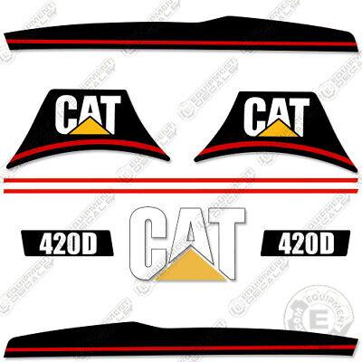 Caterpillar 420d Backhoe Loader Decal Kit Equipment Decals 420 D 420-d