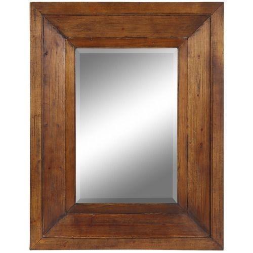 Distressed Wood Mirror Ebay