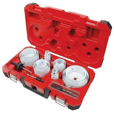 Milwaukee 49-22-4185 28-Piece Hole Saw Set Kit Bi-Metal Hole Dozer Made in USA