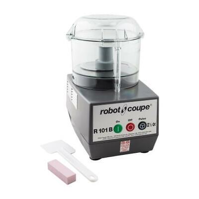 Robot Coupe - R101 B Clr - 2 12 Qt Commercial Food Processor