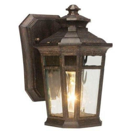 Hampton Bay Outdoor Wall Light Ebay