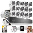 Zmodo 16 DVR/NVR Channels IP & Smart Security Camera Systems