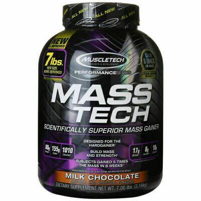 MUSCLETECH Mass-Tech GAINER 7lbs (3.2kg) Aumento Massa OFFERTA