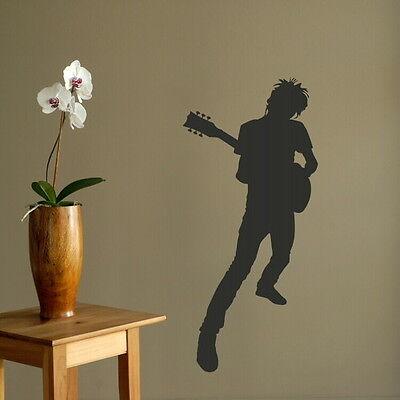 ROCKSTAR ROCK MUSIC Vinyl wall sticker rub on vinyl transfer new decal mu17