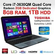 Intel i7 Quad Core Laptop