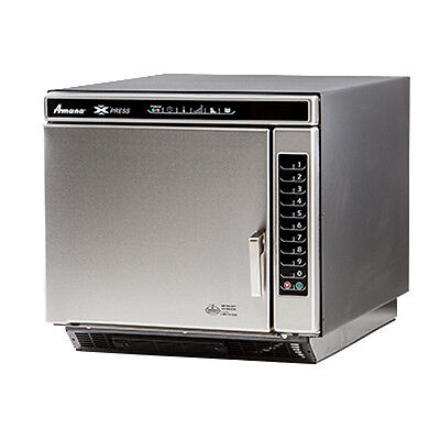 Amana Ace19n Commercial Convection-microwave Combi Oven W Touch Pad