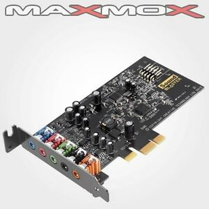 Creative Sound Blaster Audigy Fx 5.1 SOUNDKARTE SB PCIe PCI Express INTERN neu!