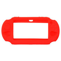 PS VITA 2000+3000-CONSOLE-SILICONE PROTECTOR-ROUGE/RED(NEUF/NEW)