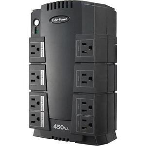 CyberPower 8-Outlet 260W UPS Surge Protector (SE450G-FC) Regina Regina Area image 2