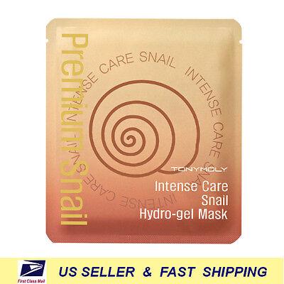 [ TONY MOLY ] Intense Care Snail Hydro Gel Mask (choose your option)+Free (Tony Moly Intense Care Snail Hydro Gel Mask)